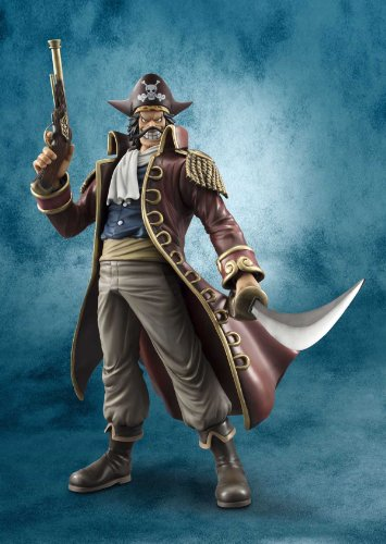 Image 2 for One Piece - Gol D. Roger - Excellent Model - Portrait Of Pirates DX - 1/8 (MegaHouse)
