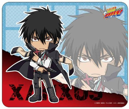 Image 1 for Katekyou Hitman REBORN! - Xanxus - 3D Mousepad - Mousepad - Ten Years After Varia (Broccoli)