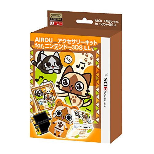 Image 1 for MH Airou Accessory Kit for 3DS LL (Damage on package)