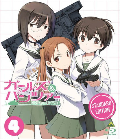 Image for Girls Und Panzer Standard Edition Vol.4