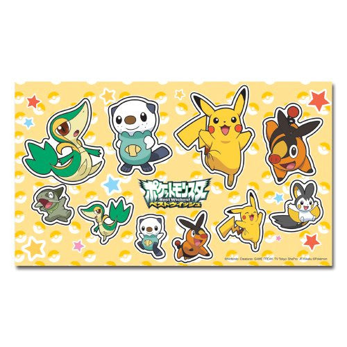 Image 3 for Pocket Monster Protection Filter Decoration Seal Set for Nintendo 3DS (Best Wish Version)