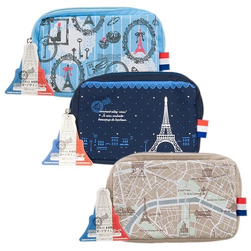 Image 5 for Design Pouch for 3DS LL (Eiffel Tower)