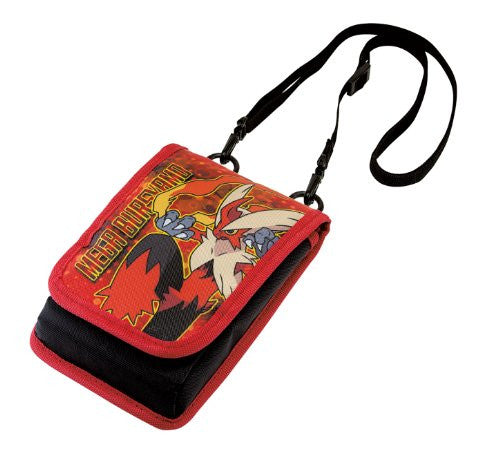 Image 1 for Mega Evolution Smart Pouch for 3DS LL (Mega Blaziken)