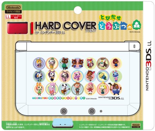 Hard Cover for 3DS LL (Tobidase Doubutsu no Mori Seiretsu)