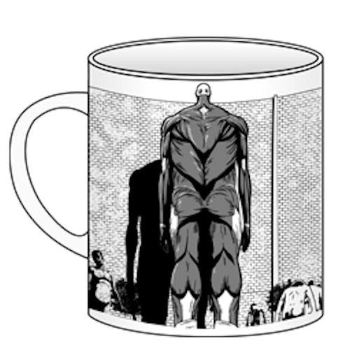 Image 1 for Shingeki no Kyojin - Armored Titan - Colossal Titan - Titan - Mug (Cospa)