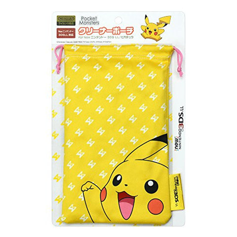 Image for Pokemon Cleaner Pouch for New 3DS LL (Pikachu)