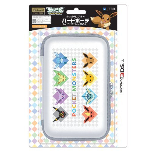 Image 1 for Pokemon Hard Pouch for 3DS LL (Eievui Series Version)