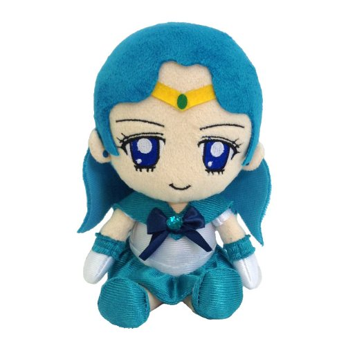 Image 1 for Bishoujo Senshi Sailor Moon - Sailor Neptune - Mini Cushion - Sailor Moon Mini Plush Cushion (Bandai)