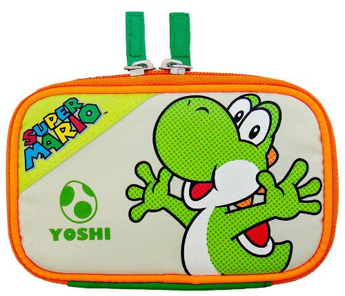 Image 1 for Character Flat Pouch 3DS (Yoshi Version)