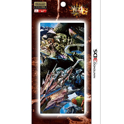 Image 1 for Monster Hunter 4G Cleaning Cloth for 3DS