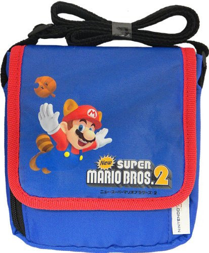 Image 1 for New Super Mario Bros. 2 Bag for 3DS (Blue) [Shippo Mario Version]