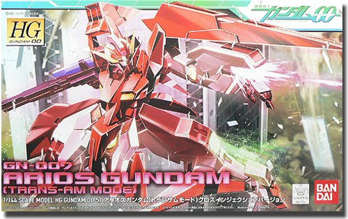 Kidou Senshi Gundam 00 - GN-007 Arios Gundam - HG00 #57 - 1/144 - Trans-Am Mode, Gloss Injection Ver. (Bandai)