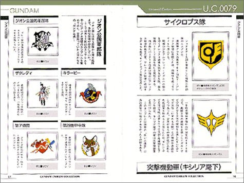 Image 2 for Gundam Emblem Collection Encyclopedia Book