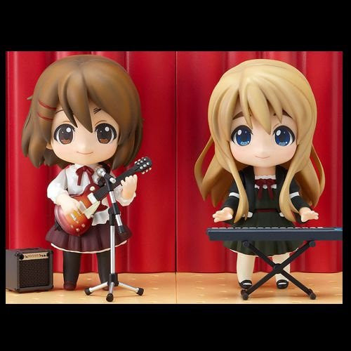 Image 2 for K-ON! - Hirasawa Yui - Kotobuki Tsumugi - Nendoroid #110 - Live Stage Set Ver.