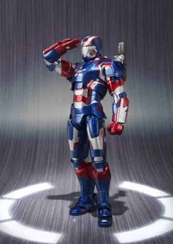 Image 4 for Iron Man 3 - Iron Patriot - S.H.Figuarts (Bandai)