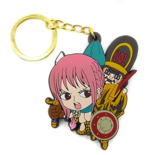 Image 1 for One Piece - Rebecca - Thunder Soldier - Keyholder - Rubber Strap - Tsumamare (Cospa)