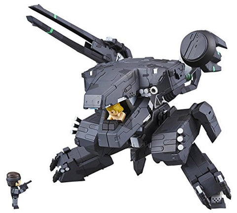 Image for Metal Gear Solid - Liquid Snake - Metal Gear Rex - Solid Snake - Variable Action D-SPEC - Black.Ver, Miyazawa Model Limited Edition (MegaHouse)