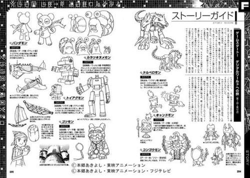 Image 5 for Digimon Series Memorial Book Digimon Animation Chronicle Art Book