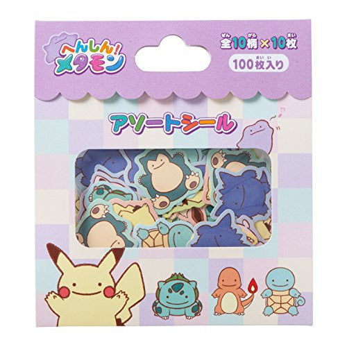 Image 1 for Pokemon - Pocket Monsters - Pokemon Center - Metamon Transformation Sticker Set