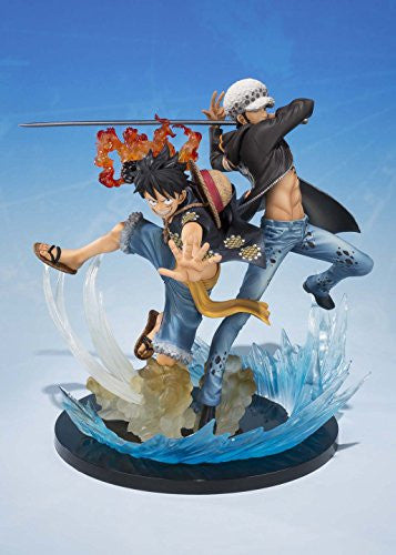 Image 7 for One Piece - Monkey D. Luffy - Trafalgar Law - Figuarts ZERO - -5th Anniversary Edition- (Bandai)
