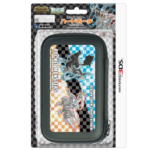 Image 1 for Pokemon Hard Pouch for 3DS (Black Kyurem & White Kyurem Version)