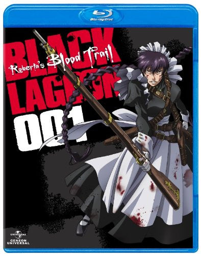Image 2 for OVA Black Lagoon Roberta's Blood Trail Blu-ray 001 [Blu-ray+CD Limited Edition]
