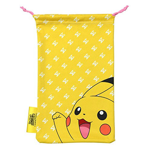 Image 2 for Pokemon Cleaner Pouch for New 3DS LL (Pikachu)