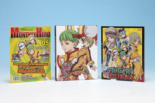 Image 3 for Tiger & Bunny 5 [Blu-ray+CD Limited Edition]