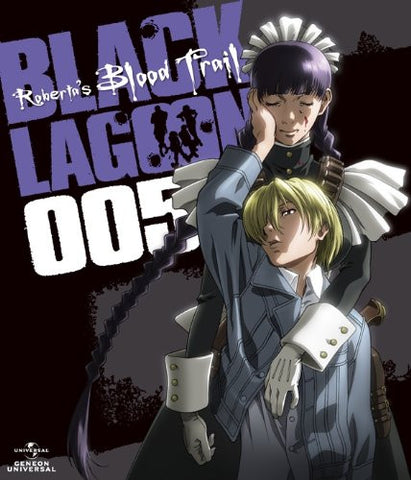 Image for OVA Black Lagoon Roberta's Blood Trail 005 Last Volume