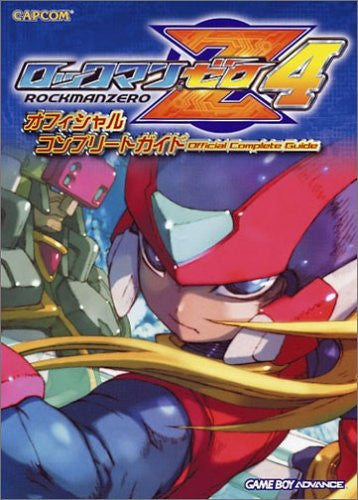 Image 1 for Mega Man Zero 4 Official Complete Guide Book/ Gba
