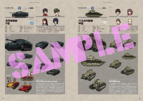 Image 3 for Girls Und Panzer Sensha Do Kiwamemasu Visual Guidebook
