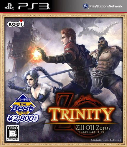 Image 1 for Trinity: Zill O'll Zero (Koei Tecmo the Best)