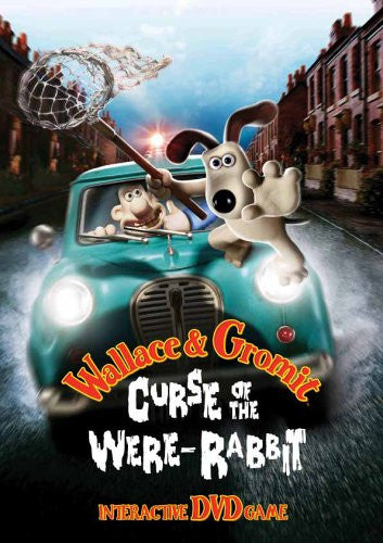 Image 1 for Wallace & Gromit Curse of the were-Rabbit Interactive DVD Game