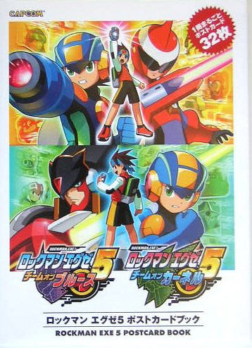 Image 1 for Mega Man Battle Network 5 Postcard Book / Gba