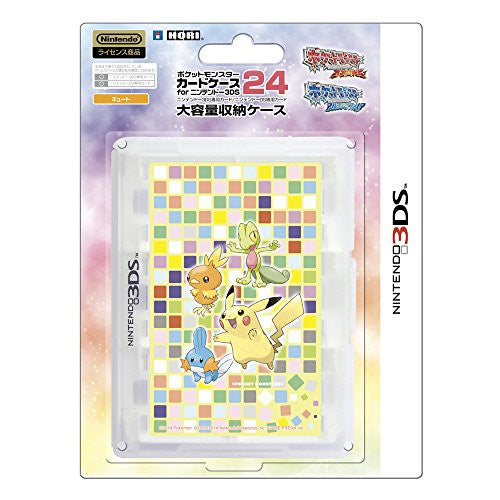Image 1 for Pokemon Card Case 24 for 3DS (Cute)