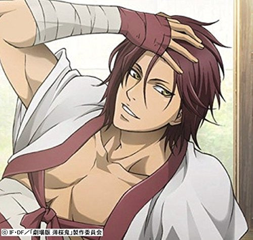 Image 2 for Hakuouki Shinsengumi Kitan Movie 1 - Kyoto Ranbu - Harada Sanosuke - Dakimakura Cover (Gate)
