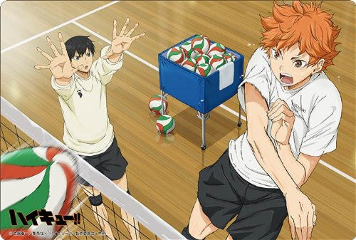 Image 1 for Haikyuu!! - Hinata Shouyou - Kageyama Tobio - Large Format Mousepad - Mousepad (Broccoli)