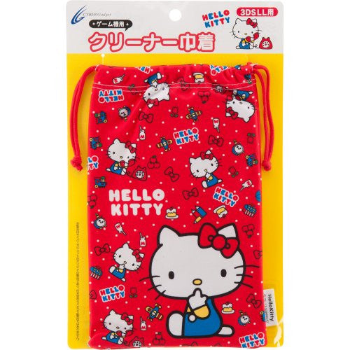 Image 1 for Hello Kitty Pouch for 3DS LL (Red)
