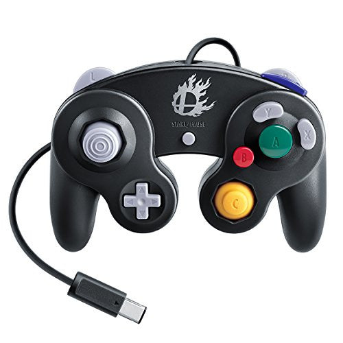 Image 1 for Nintendo Gamecube Controller Black (Smash Bros.)