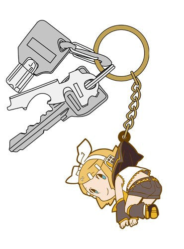 Image 3 for Vocaloid - Kagamine Rin - Tsumamare - Rubber Keychain - Keyholder (Cospa)