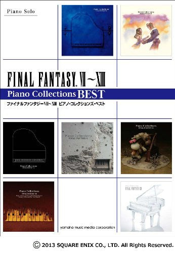 Image 1 for Final Fantasy Vii   Viii Piano Solo Collections Best Sheet Music Book