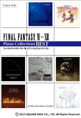 Image for Final Fantasy Vii   Viii Piano Solo Collections Best Sheet Music Book