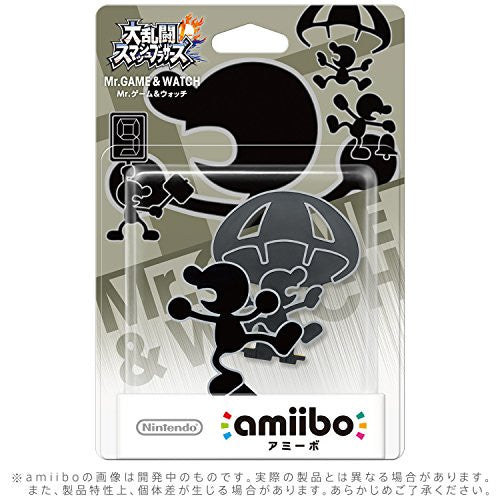 Image 2 for Dairantou Smash Bros. for Nintendo 3DS - Dairantou Smash Bros. for Wii U - Mr. Game & Watch - Amiibo - Amiibo Dairantou Smash Bros. Series (Nintendo)