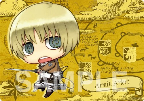 Image 2 for Shingeki no Kyojin - Armin Arlert - Mousepad - Chimi (Gift)
