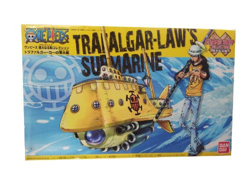 Image 1 for One Piece - One Piece Grand Ship Collection - Trafalgar Law's Submarine (Bandai)