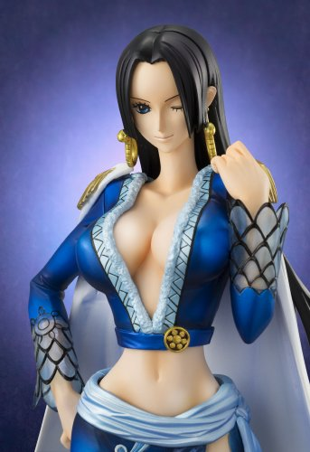 Image 2 for One Piece - Boa Hancock - Excellent Model - Portrait Of Pirates EX - 1/8 - Blue ver. (MegaHouse)