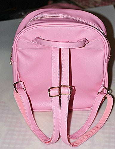 Image 7 for Ita Bag - Clear Heart Backpack - Akssweet - Pink