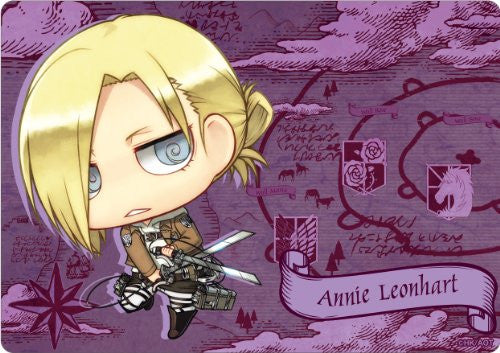 Image 1 for Shingeki no Kyojin - Annie Leonhart - Mousepad - Chimi (Gift)