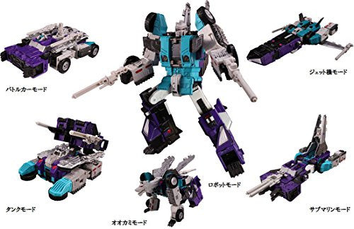 Image 10 for Transformers - Transformers: The Headmasters - Sixshot - Transformers Legends LG-50 (Takara Tomy)