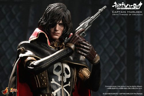 Image 6 for Space Pirate Captain Harlock - Captain Harlock - Torisan - Movie Masterpiece MMS223 - 1/6 - Throne of Arcadia (Hot Toys)